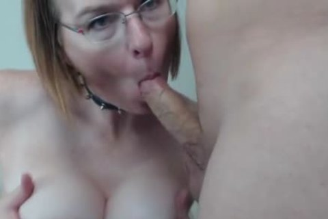 old shelady gets Titty plowed And came