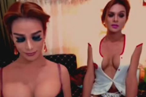 massive pointer sisters ladyboys Do A nasty And stunning 69