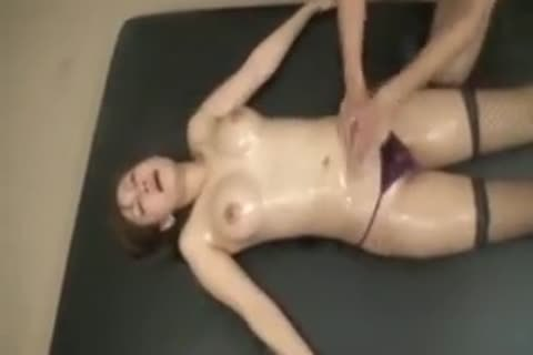 large Breasted Oriental sheboy receives Her nasty Body All G
