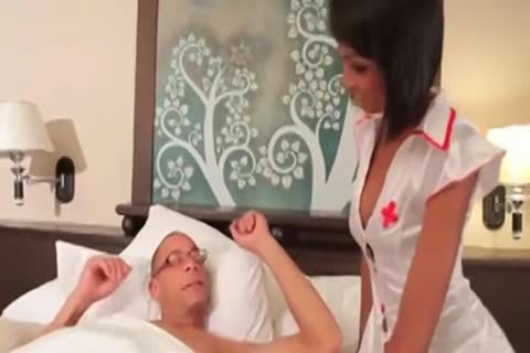 shelady Nurse sucking 10-Pounder And Getting anal slammed