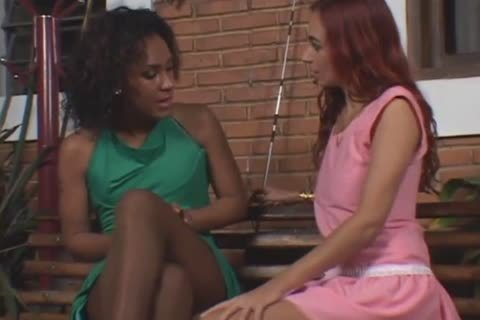 shemale And girl In Nylons plowing Hard Watch P