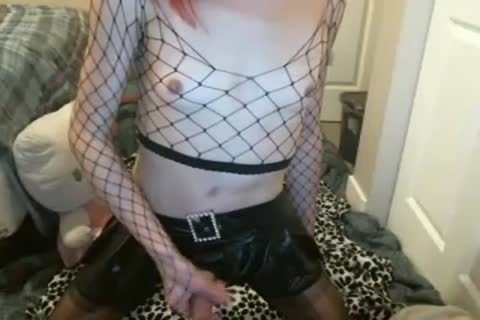 oriental Stoner Goth Plays In Leather