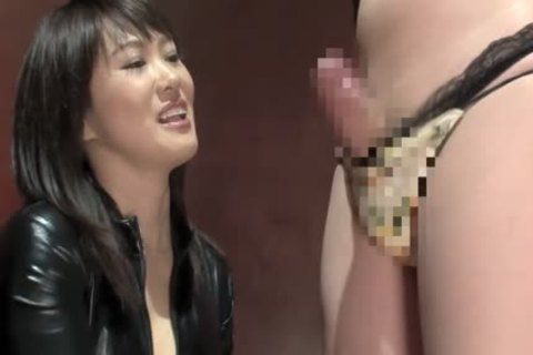 lewd Japanese playgirl In Exotic oriental, bdsm JAV clip