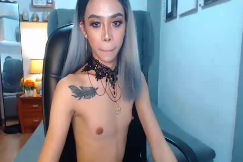 tasty Petite asian Trans On web camera