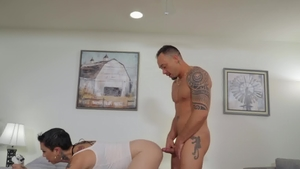 TransAngels - Big boobs Danika Dreamz ass pounded