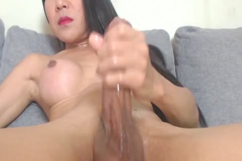 asian Doggystyle Masturbation With sex toy