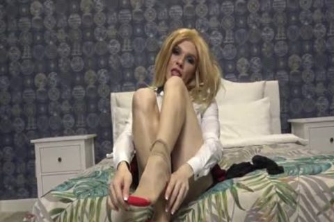 Russian blond Bombshell Kate V Cums In Own mouth