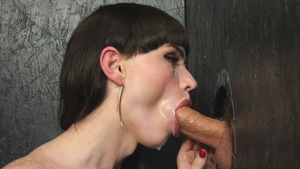 GenderX.com: Natalie Mars in sexy stockings deepthroat
