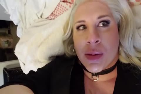 fat blonde Very excited Transgender gal Is A cocksucker