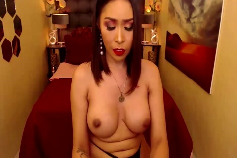 Sizzling sexy breasty sheboy Jacking Off At Live cam