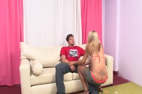 blonde shelady gets Her wazoo Rammed