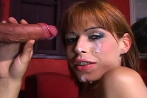 tranny Does Striptease previous to Getting That cute wazoo Rammed
