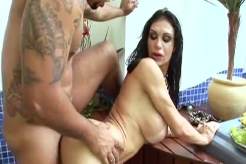 lustful tranny bows Over For A wild anal poke