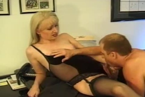 ladyman Secretary gets team-nailed Hard