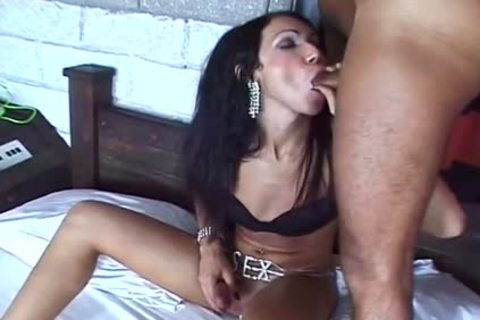 tranny BAREBACKIN IT three - Scene two