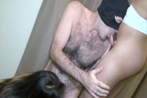 Double Thai Ladyboy engulf Theirs And Mine