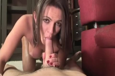 sleazy t-girl acquires The cock